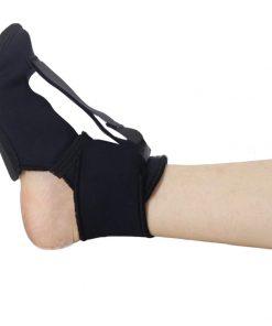 Nattstrumpa mot hälsporre, produktbild med utsträckt fot